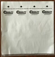 QRP QUALITY RECORDS 50 INNER SLEEVES NOT BRANDED AS MOBILE FIDELITY MOFI