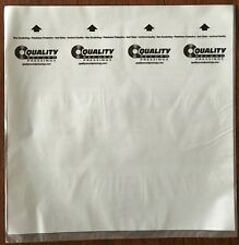 QRP QUALITY RECORDS 25 INNER SLEEVES NOT BRANDED AS MOBILE FIDELITY MOFI