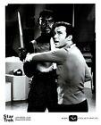 Star Trek William Shatner Michael Ansara Klingon NBC TV Original 8x10 Photo 1968