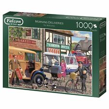 Morning Deliveries 11217 Puzzle Falcon Jumbo 1000 Teile NEU OVP