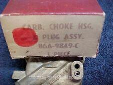 NOS 56 57 Ford & Thunderbird Dual Quad & Supercharge Carburetor Choke Housing