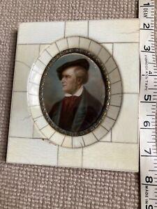 Miniature - Portrait - RICHARD WAGNER - signed