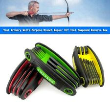 New listing 9in1 Archery Multi-Purpose Wrench Repair DIY Tool Compound Recurve Bow u8 YU