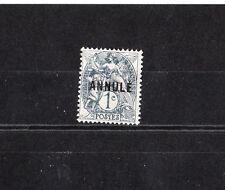 timbre France  type Blanc  1c gris surchargé Annulé  NUM: 107-CI 2  *