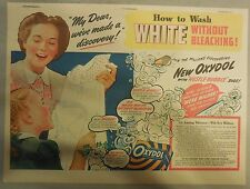 Oxydol Soap Ad: White Without Bleaching! from 1940's