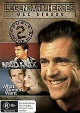 MAD MAX/WHAT WOMEN WANT Mel Gibson 2DVD NEW