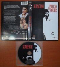 El Precio del Poder (Scarface)[DVD] Brian De Palma, Al Pacino, Michelle Pfeiffer