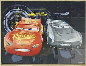 Disney Cars 3 Wooden Puzzle (5 Puzzles in a Wooden Box) Lighting McQueen