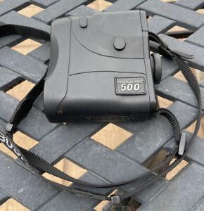 Bushnell Yardage Pro 500 Rangefinder Tested Working Black