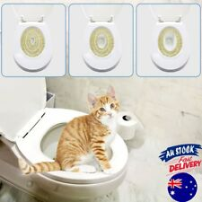 Pet Cat Toilet Training Kit Pet Kitty Potty Train System Training Toilet Tray ma