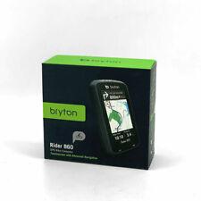 Bryton Rider 860T GPS Bike Touch Screen Computer Speed Cadence HR Sensor & Mount