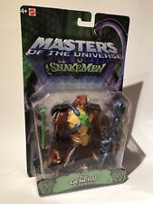 He-man MOTU 200x the GENERAL. (RATTLOR) MIB MOC  MASTERS OF THE UNIVERSE.