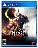 Nioh 2 (Playstation 4 / PS4) BRAND NEW FACTORY SEALED Free Shipping Action RPG