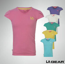 Polyester Patternless T-Shirts & Tops (2-16 Years) for Girls