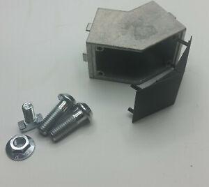 45° Winkel, Winkelverbinder für Aluprofil Typ B Nut 10