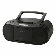 Sony CFDS70B.CEK CD and Casette Boombox with Radio - Black