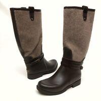 ✅❤️✅@ UGG Australia Sz 8 Eu39 Women's Kopynne  Knee High Rain Boots Chocolate