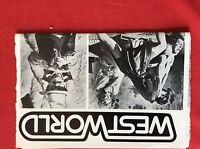 m9-9d ephemera 1970s film interview westworld richard benjamin
