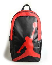 68eef6bfec2b Nike Air Jordan Jumpman ISO Backpack Travel Gym Bag Red Black 9A1911-KR5 NWT