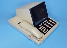 Vintage Northern Telecom NT displayphone desk clock note pad miniature data term