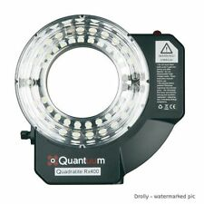 QUANTUUM QUADRALIGHT 400 RING FLASH PROFESSIONALE CON BATTERY PACK INTEGRATO