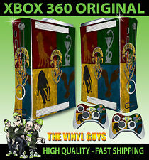 XBOX 360 STICKER Hogwarts Houses Logo Harry Potter Draco SKIN & 2 X PAD SKINS