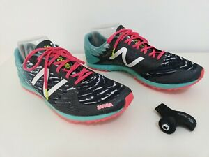 New Balance women's WXCS900A Track Shoes, Racing Size 9.5B Silent Hunter, SPIKES