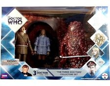 DOCTOR WHO - THE THREE DOCTORS FIGURE COLLECTORS SET BRAND NEW