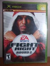 Fight Night: Round 2 (Microsoft Xbox, 2005) New Sealed!