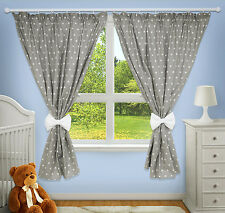 LUXURY DECORATIVE CURTAINS BABY CHILD BEDROOM NURSERY WINDOW PINCER CLIPS
