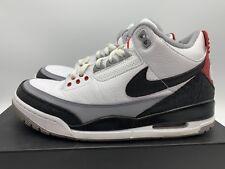 Nike Air Jordan 3 Retro Tinker NRG SZ 9 White Fire Red Cement OG AQ3835-160