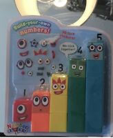 Numberblocks, Cbeebies Number Blocks 1-5 With3DFace🥳 Stickers,100%GENUINE 🤗