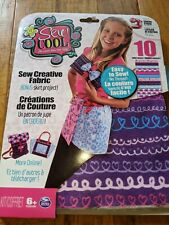 New ListingSew Cool Craft Fabric 10 sheets assorted with bonus skirt project