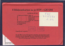 P 81   19. Auflage 8 Ganzsachen im Originalumschlag ungeöffnet !!!!!~⓰
