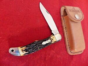 Schrade Walden Uncle Henry USA 127 mint 1956-72 liner lock folding hunter knife