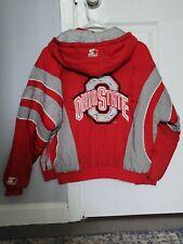 New listing Vintage Ohio State Buckeyes OSU Polyester Down Nylon Starter Jacket Youth Size M