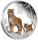 2022 Australia COLORED PROOF Lunar Year of the Tiger 1oz Silver $1 Coin Series 3