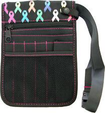 Nurse pouch, Rainbow Care Ribbon bag, utility, Vet, OT, teacher + FREE Cue Card