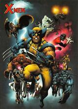 CHECKLIST / X-Men Archives (Rittenhouse Archives 2009) BASE Trading Card #01