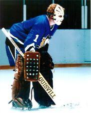 1975-76 Gordon Laxton Pittsburgh Penguins 8x10 Photo - Rare Vintage Goalie Mask