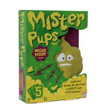 Mattel DPX25, Mister Pups Kartenspiel, Kinderspiel Geschicklichkeitsspiel