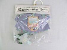 "VanderBear Wear Gibearny Muffy Collection Bear 7"" Clothing New NABCO"