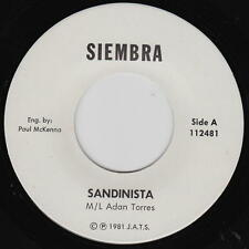 M/L Adan Torres 45rpm Siembra 112481 Sandanista/El Oriental Latin