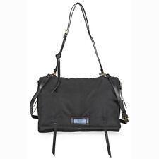 Prada Large Fabric Crossbody Bag - Black