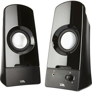 Cyber Acoustics Curve Sonic 2.0 Computer Speaker System 3 Watts-CA2050