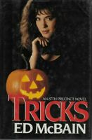 Tricks Ed McBain Signed First Edition 1987 Hardcover Dust Jacket Cover Sleeve