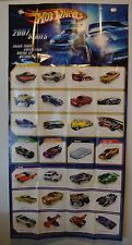 2007 Hot Wheels Series Promotional Collectors Poster Never Hung Hotwheels