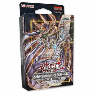 Yu-Gi-Oh! TCG Cyber Strike YGO Structure Deck Auswahl Playset SDCS deutsch OvP