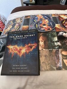 The Dark Knight Trilogy Dvd Set