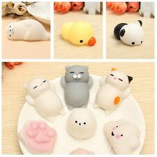 6PCS Mochi Duck Seal Cloud Cat Claw Squishy Squeeze Cute Healing Toy Kawaii Coll
